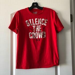 Boys Under Armour Silence the Crowd T-Shirt